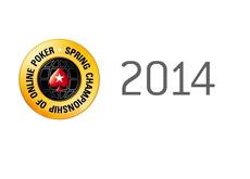 Spring Championship of Online Poker 2014 - Logo