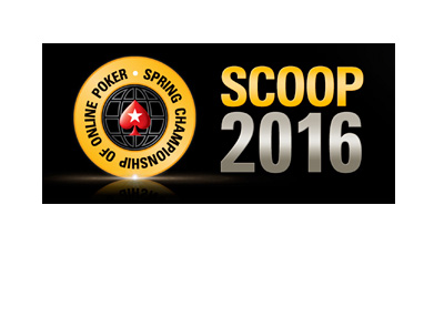 Pokerstars SCOOP (Spring Championship of Online Poker) 2016 graphic