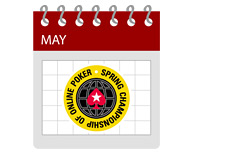 -- Pokerstars SCOOP Schedule - Calendar - May --