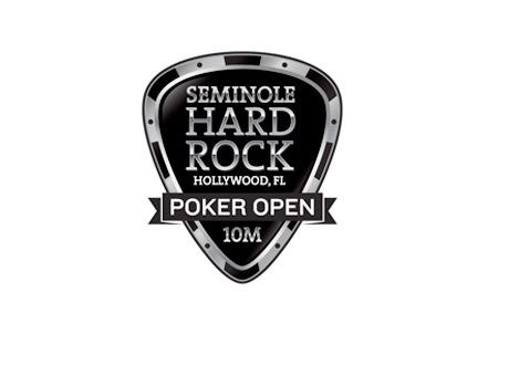 The Seminole Hard Rock Hollywood Poker Open - Logo - White Background