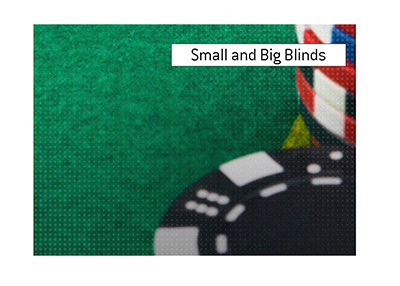 The King explains the difference between small and big blinds in the game of Holdem and Omaha poker.