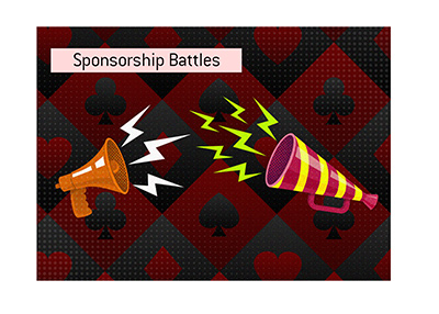 The poker sponsorship battles are heading up.  The target is online streamers.