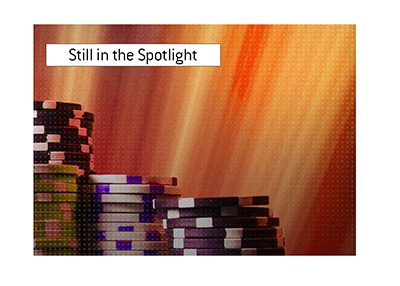 An old poker pro is still grabbing the headlines.  Still in the spotlight.