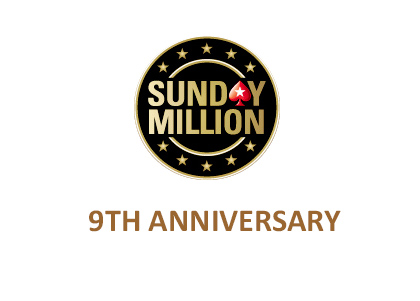 Pokerstars Sunday Million 9th Anniversary - Logo and Graphic