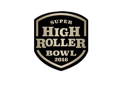 The 2016 Super High Roller Bowl logo - Poker tournament