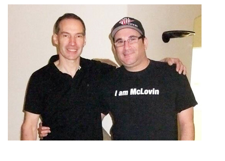 Ted Forrest and Mike Matusow - Weight Loss Bet - Photo