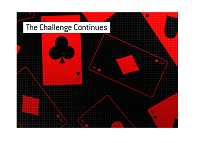 The Challenge odds have now shifted back to what they were before the Challenge got underway.