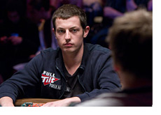 Tom Durrrr Dwan at the Poker Table - WSOP 2010