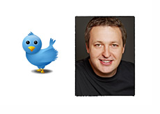 Tony G Twitter photo next to a twitter bird