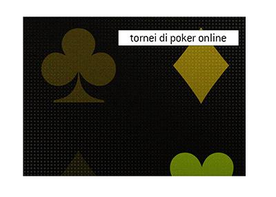 Ci sono molti tornei di poker internazionali che si svolgono online offrendo enormi ricompense per i vincitori..