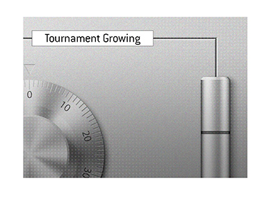Weekly tournament is growing in size.  Reaches milestone.