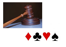 -- court house image - poker card symbols --