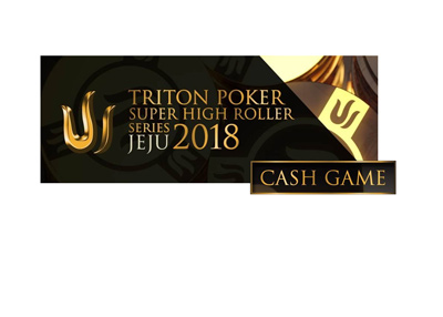 The Triton Poker Jeju 2018 cash game event - Tournament logo.