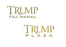 Trump Taj Mahal and Trump Plaza - Logos