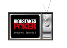 -- Old TV set illustration - High Stakes Poker - Season 6 Episode 6 --