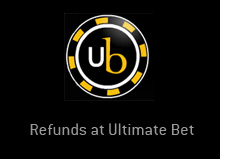 poker room ultimate bet is doing the second round of refunds to its players - ub logo