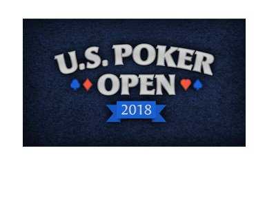 The U.S. Poker Open 2018 - Tournament logo.