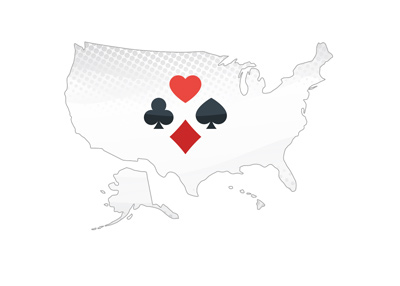 Is online poker returning to the United States?  Illustration.