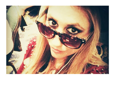 Vanessa Rousso - Rodeo style - Twitter photo