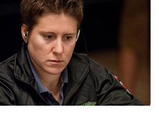 Vannesa Selbst at the World Series of Poker 2010 - Black Jacket