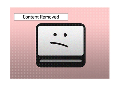 Poker video content has been removed lately from the largest platform.