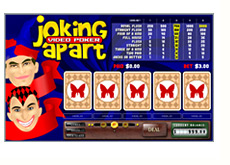 joking apart flash video game - video poker