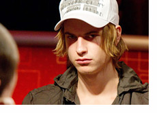 Viktor Blom aka Isildur1 - Wearing a Armani Exchange hat