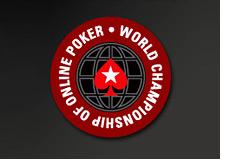 world championship of online poker 2008 - logo