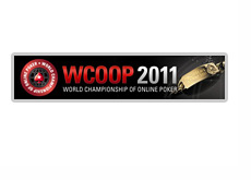 World Championship of Online Poker - WCOOP 2011 - logo and promo