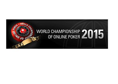 World Championship of Online Poker 2015 - Logo with text