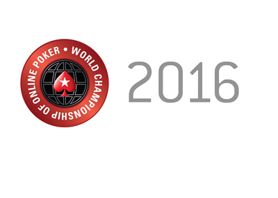 World Championship of Online Poker - Year 2016 - White background