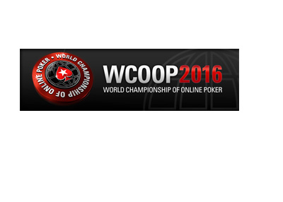 The World Championship of Online Poker - WCOOP - 2016 - Promo graphic - 400 pixels wide
