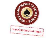 pokerstars wcoop 2007 winner disqualified