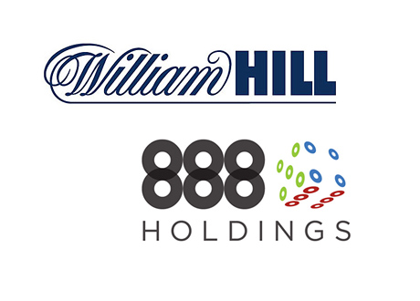 William Hill and 888 Holdings - Company Logos - Potential Buyout