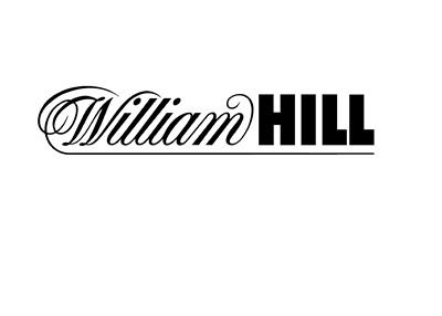 William Hill - Company logo - Black colour on white background