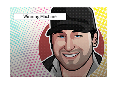 Phil Hellmuth - The Winning Machine - Illustration.
