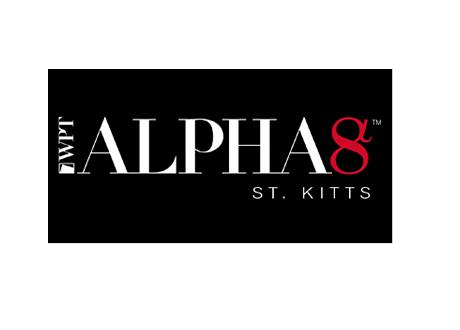 World Poker Tour - Alpha 8 St. Kitts - WPT - Logo - Black Background