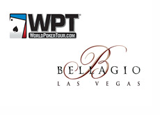 World Poker Tour and the Bellagio Hotel logos