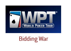 -- bidding war for world poker tour - logo wpt --