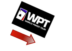world poker tour stock tumbling