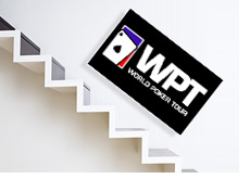 world poker tour stock - wpte - going down - downstairs wpt - tumbling