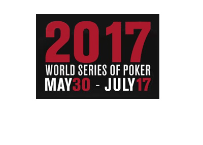The World Series of Poker 2017 - Schedule - Dates on black background.