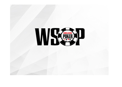 The WSOP logo on digitized background.  The schedule for 2018 is out.