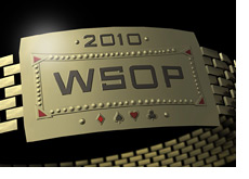 -- 3D Illustration of the WSOP 2010 Bracelet --
