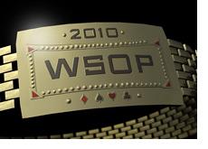 -- 3D Illustration of the WSOP 2010 Bracelet --