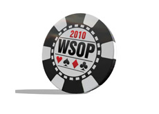 World Series of Poker 2010 Chip