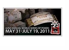 World Series of Poker 2011 - Schedule