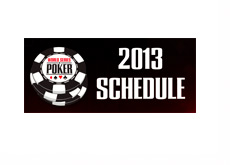 World Series of Poker - WSOP - 2013 - Schedule