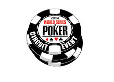 The World Series of Poker (WSOP) 2014 - Circuit Event Chip