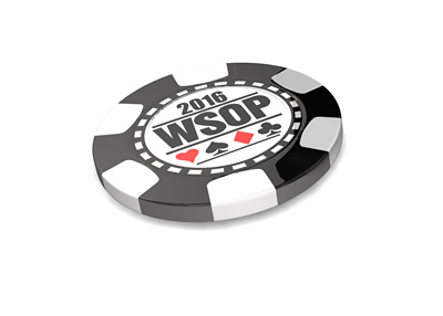 WSOP 2016 Poker Chip - 3D